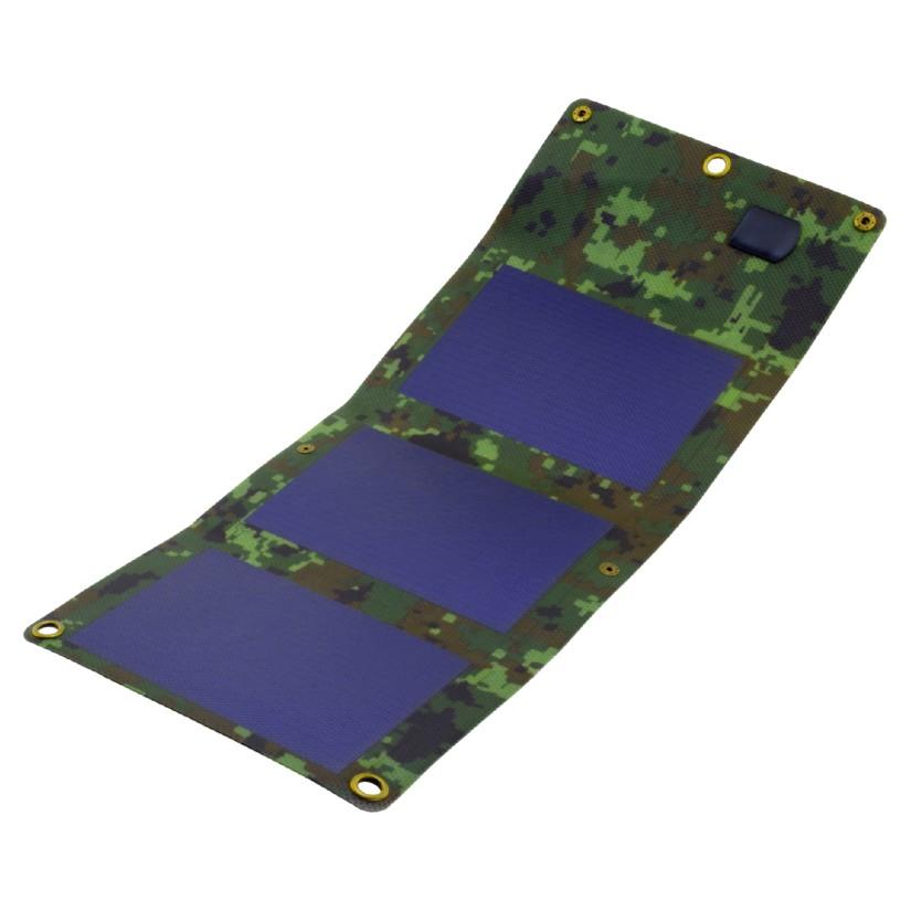Solpanel 5W, USB 5V, 1.1A, s5W1C