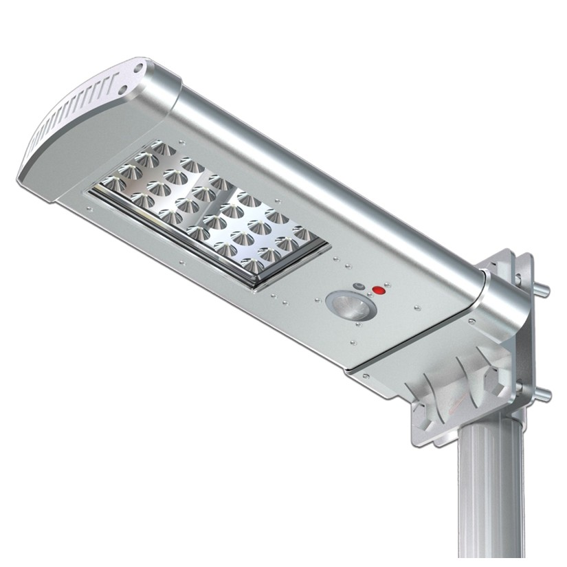 Solar gatelampe med bevegelsessensor, SSL01