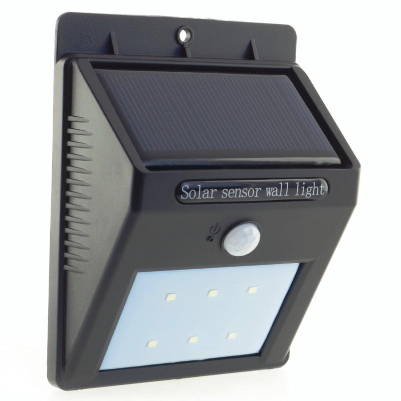 Væglampe med Motion Sensor, Solar Panel 1W, SL09P