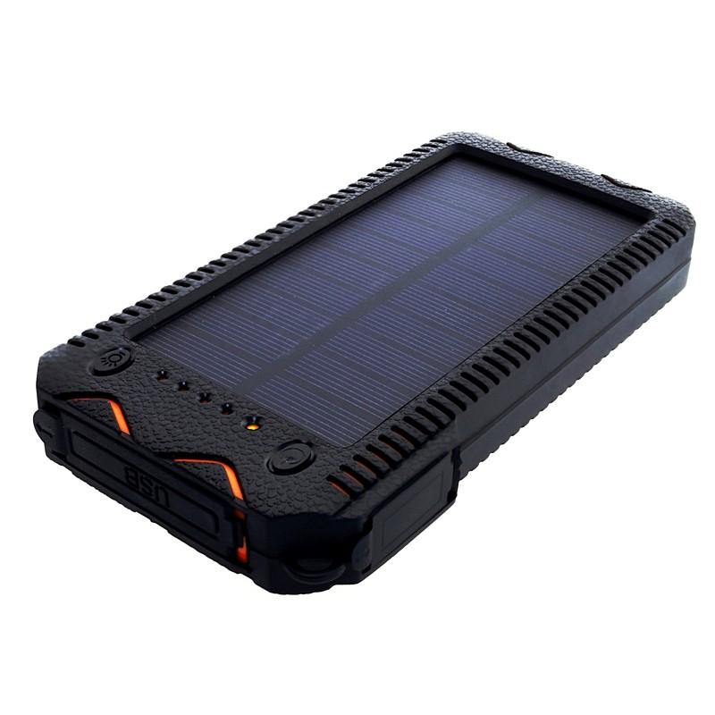 Power Bank 12000mAh (44,4Wh) avec solaire 1W, S12000Y