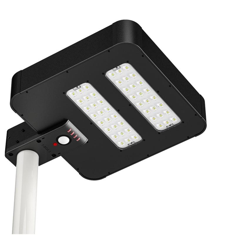 Solarna lampa uliczna 2200lm LED PV 24W czujnik ruchu, SLL18