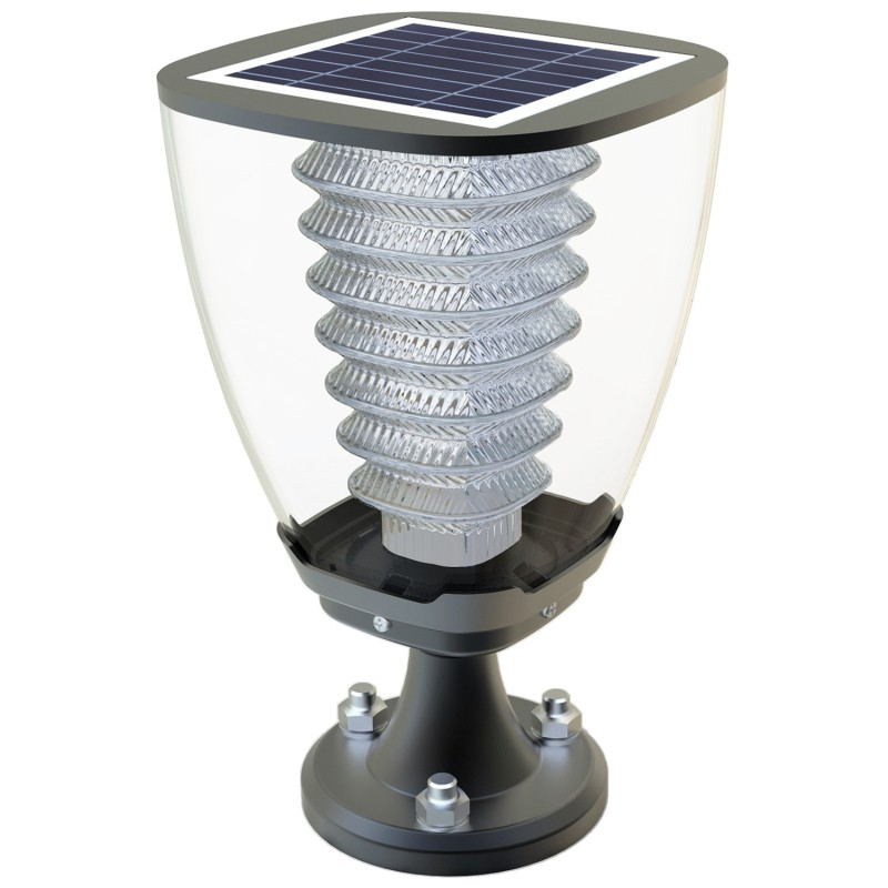 Solarna lampa ogrodowa LED PV czujnik światła 27cm, ESL-15H