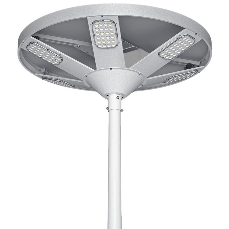 Solar gatelampe med skumringssensor, SLL-26